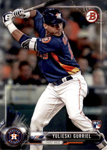 Photo of 2017 Bowman #29 Yulieski Gurriel  -- Astros post-season