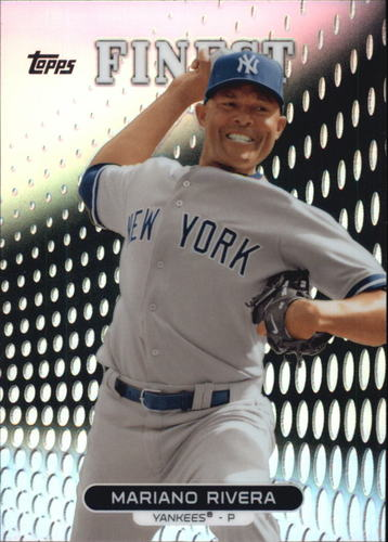 Photo of 2013 Finest Refractors #42 Mariano Rivera