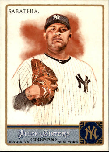 Photo of 2011 Topps Allen and Ginter #330 CC Sabathia SP