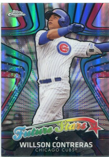 Photo of 2017 Topps Chrome Future Stars #FS2 Willson Contreras -- NLCS roster