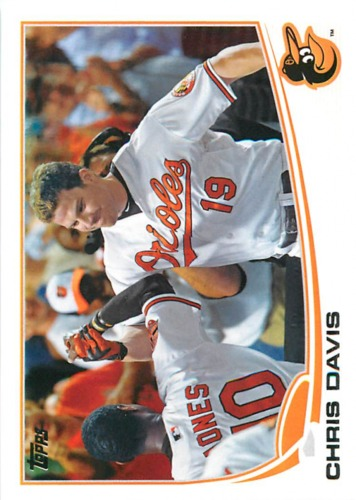 Photo of 2013 Topps #119 Chris Davis