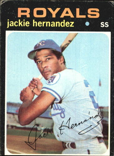 Photo of 1971 Topps #144 Jackie Hernandez