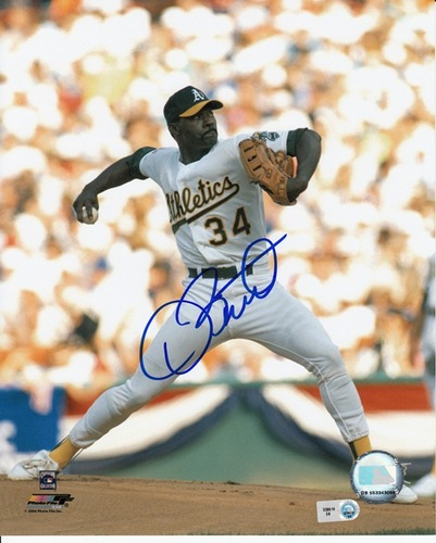 Photo of Dave Stewart Autographed 8x10