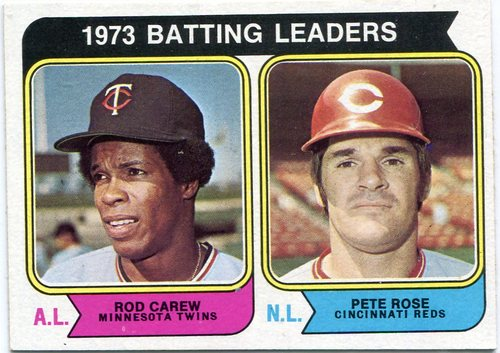 Photo of 1974 Topps #201 Batting Leaders/Rod Carew/Pete Rose