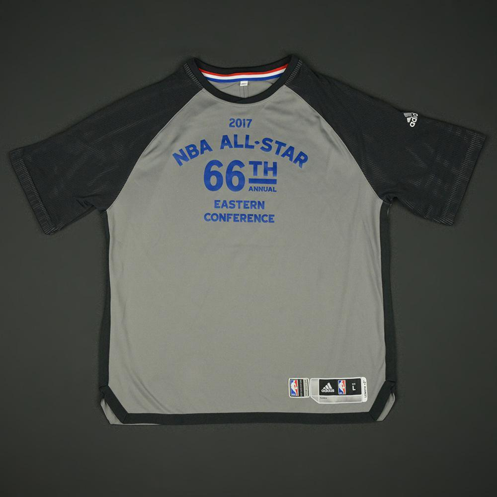 John Wall - 2017 NBA All-Star Game - Eastern Conference - Warmup-Worn Shooting Shirt