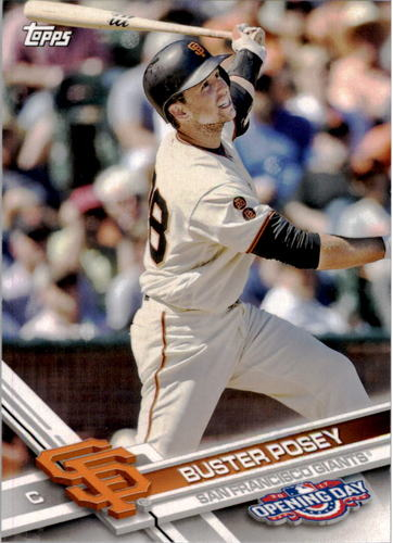 Photo of 2017 Topps Opening Day #200 Buster Posey