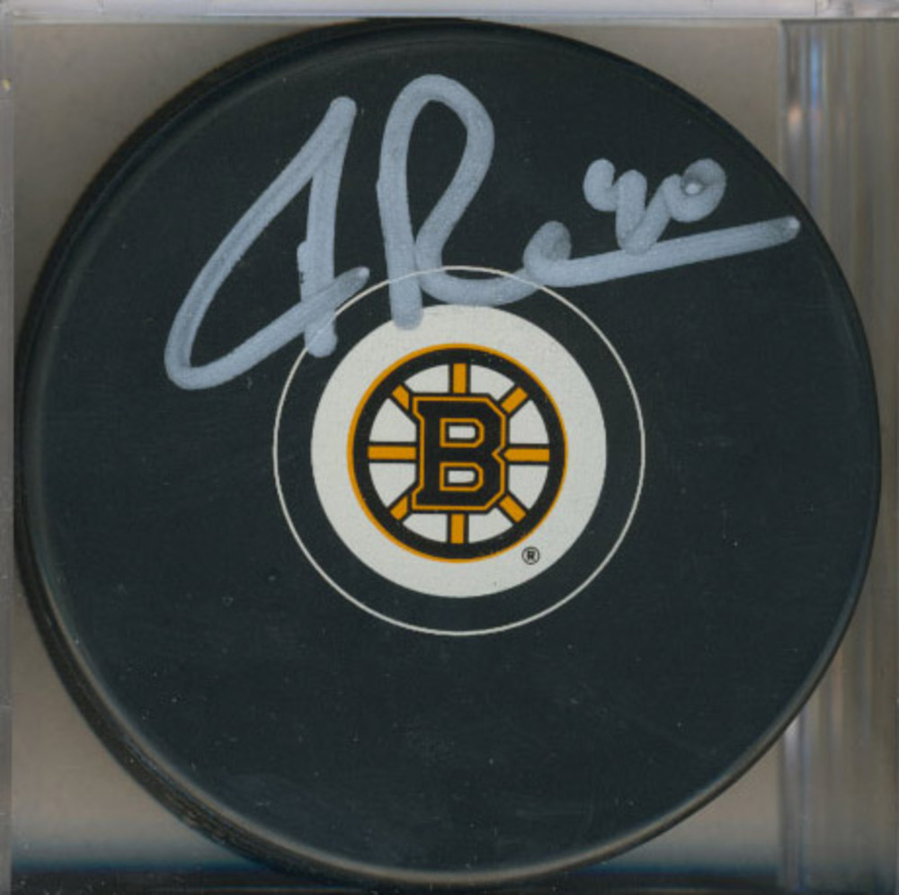 TUUKKA RASK Boston Bruins AUTOGRAPHED Hockey Puck