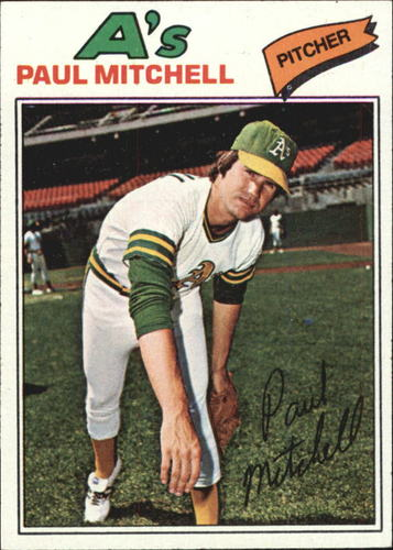 Photo of 1977 Topps #53 Paul Mitchell