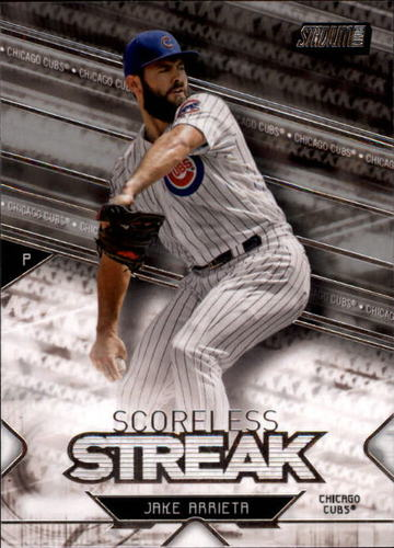 Photo of 2017 Stadium Club Scoreless Streak #SSJA Jake Arrieta