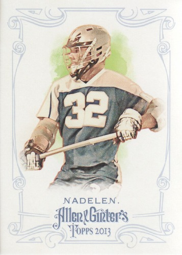 Photo of 2013 Topps Allen and Ginter #45 Shawn Nadelen