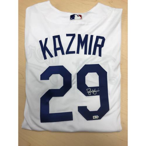 Photo of LA Dodgers Foundation Online Auction: Scott Kazmir Authentic Autographed Jersey