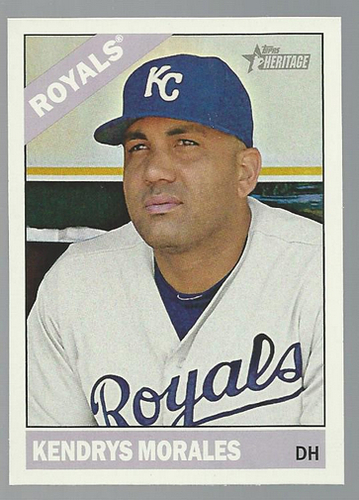 Photo of 2015 Topps Heritage #242 Kendrys Morales