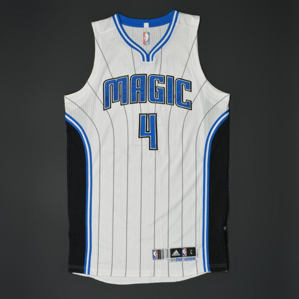 Elfrid Payton - Orlando Magic - Game-Worn Jersey - 2015-16 NBA Season - Scored 24 Points