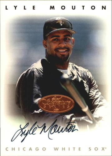 Photo of 1996 Leaf Signature Autographs #162 Lyle Mouton
