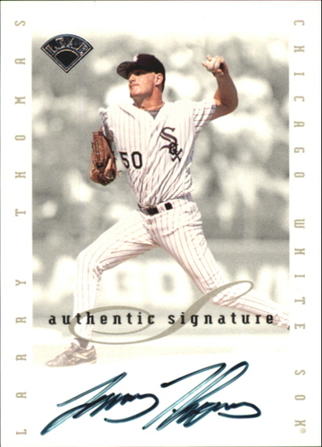Photo of 1996 Leaf Signature Extended Autographs #200 Larry Thomas