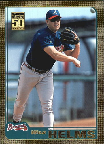 Photo of 2001 Topps Traded Gold #T93 Wes Helms