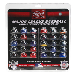Toronto Blue Jays Micro Helmets Standing Board by Rawlings