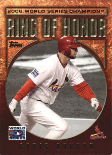 Photo of 2009 Topps Ring Of Honor #RH78 Chris Duncan