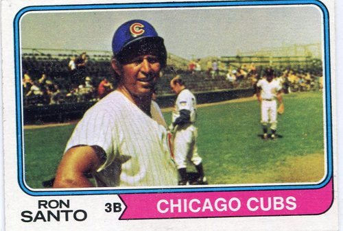Photo of 1974 Topps #270 Ron Santo Hall of Famer