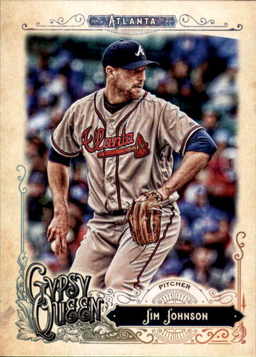 Photo of 2017 Topps Gypsy Queen #35 Jim Johnson