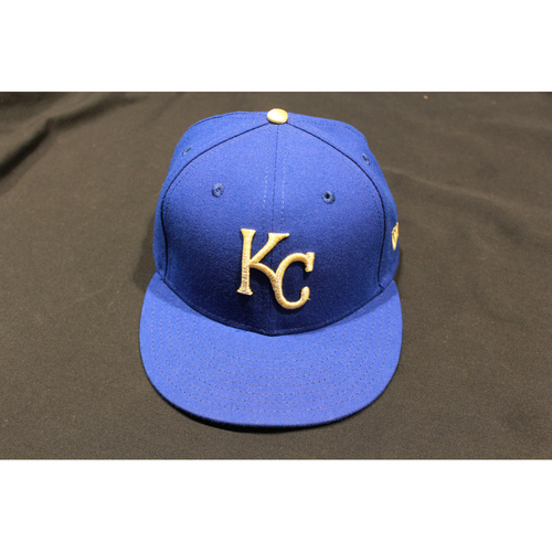 Photo of Brian Buchanan Game-Used Cap (4/14/17) (Size: 7 1/4)