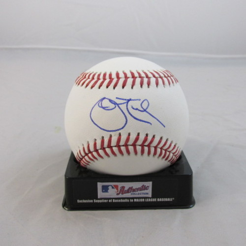 Photo of John Tudor Autographed Baseball