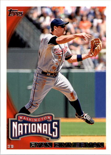 Photo of 2010 Topps #561 Ryan Zimmerman