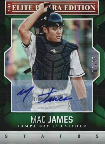 Photo of 2014 Elite Extra Edition Signature Status Emerald #54 Mac James
