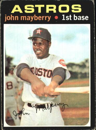 Photo of 1971 Topps #148 John Mayberry