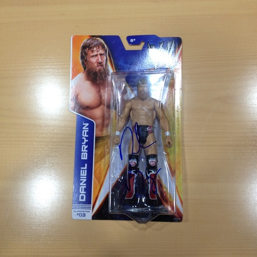 SIGNED Daniel Bryan Superstar #03 Action Figure
