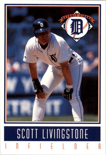 Photo of 1993 Tigers Gatorade #19 Scott Livingstone