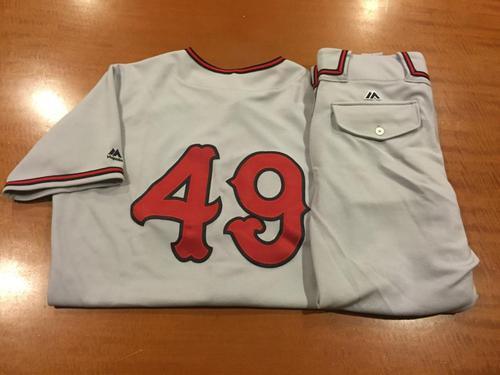 Photo of Tony Renda Game-Used Cincinnati Tigers Uniform