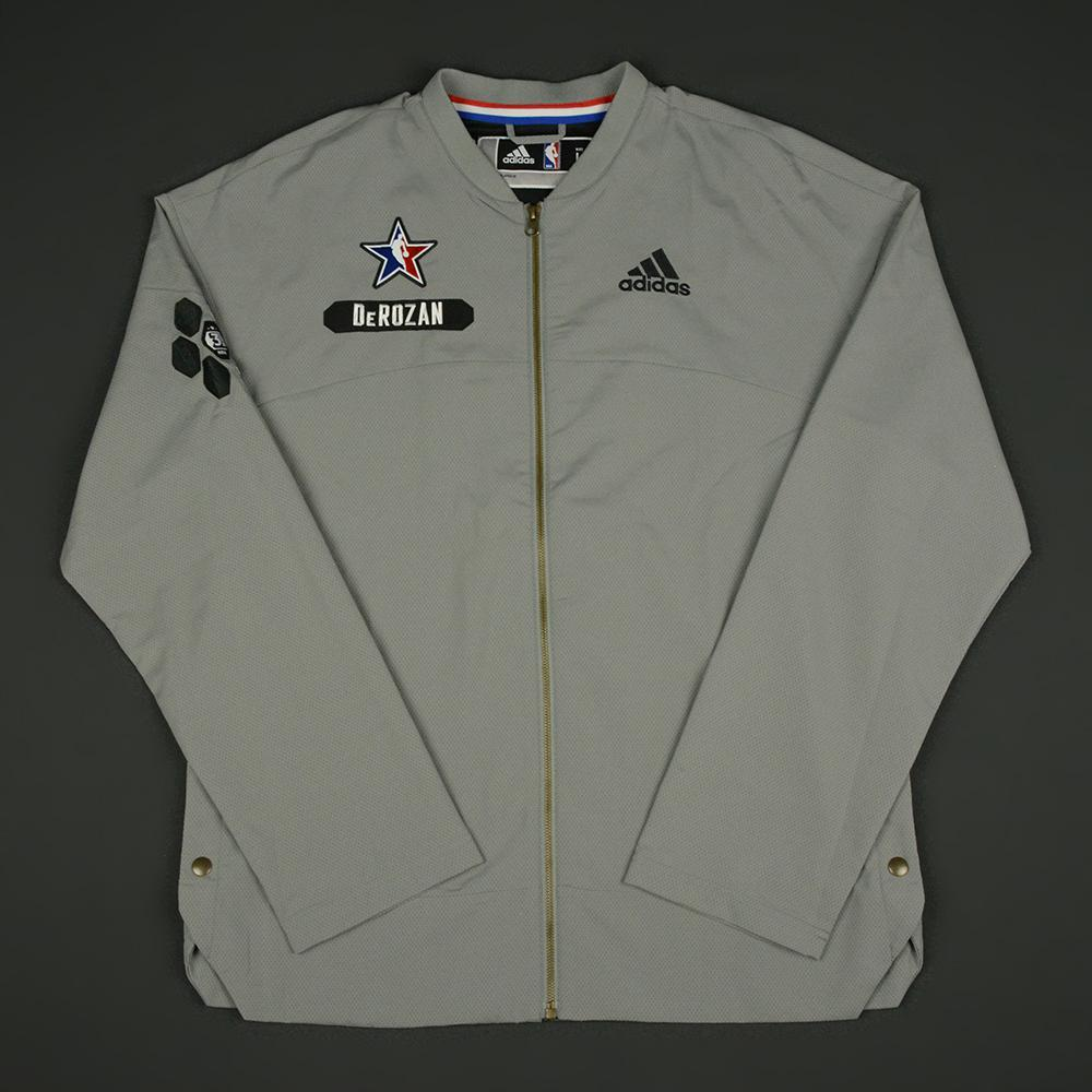 DeMar DeRozan - 2017 NBA All-Star Game - Eastern Conference - Warmup-Worn Jacket