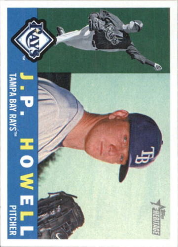 Photo of 2009 Topps Heritage #587 J.P. Howell