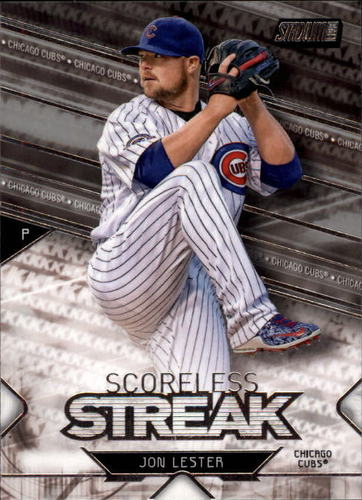 Photo of 2017 Stadium Club Scoreless Streak #SSJL Jon Lester