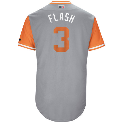 "Photo of Ryan ""Flash"" Flaherty Baltimore Orioles Game-Used Players Weekend Jersey"