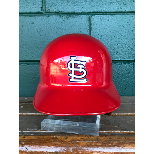 Photo of Cardinals Authentics: Seung-hwan Oh Game Worn Home Red Helmet
