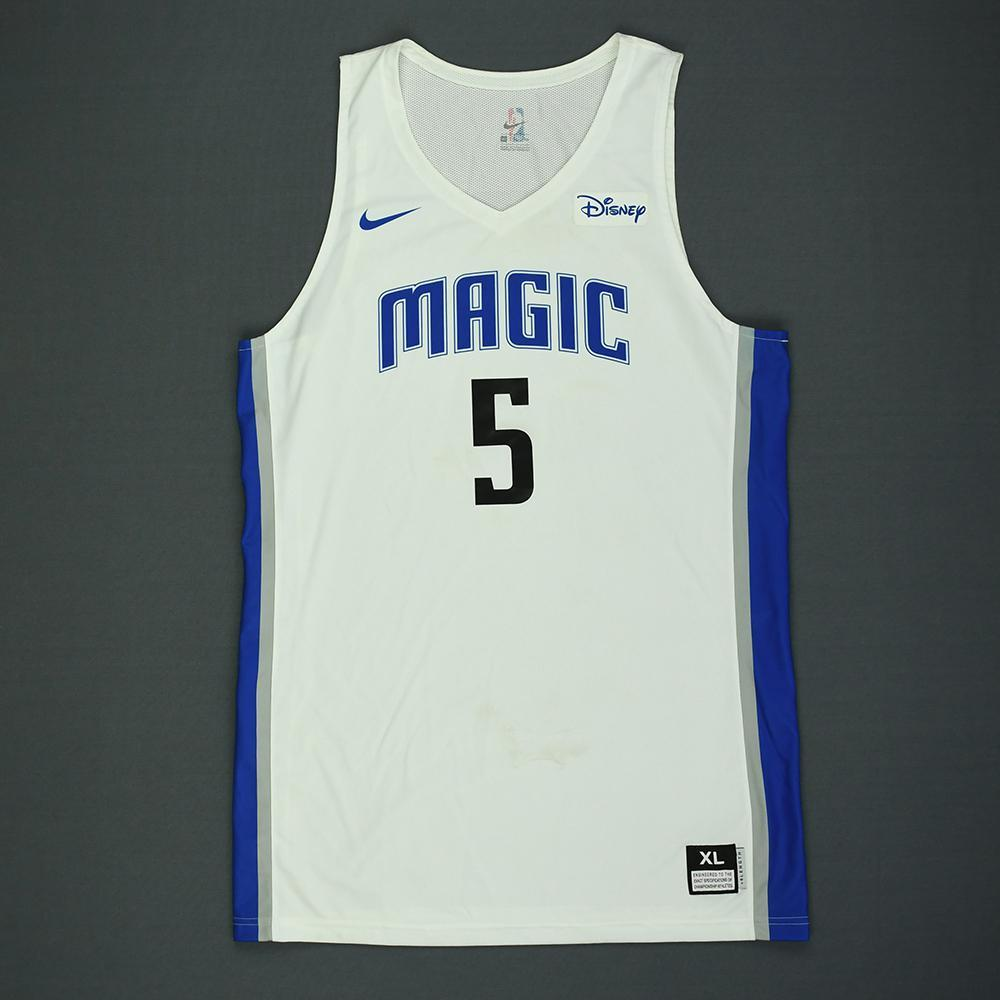 Mohamed Bamba - Orlando Magic - 2018 NBA Summer League - Game-Worn Jersey
