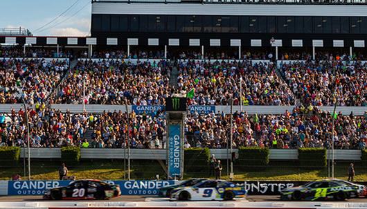 GANDER RV 400 NASCAR EXPERIENCE AT POCONO RACEWAY - PACKAGE 1 of 3