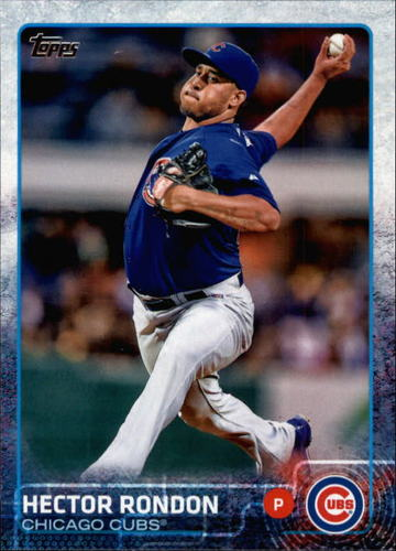 Photo of 2015 Topps #412 Hector Rondon