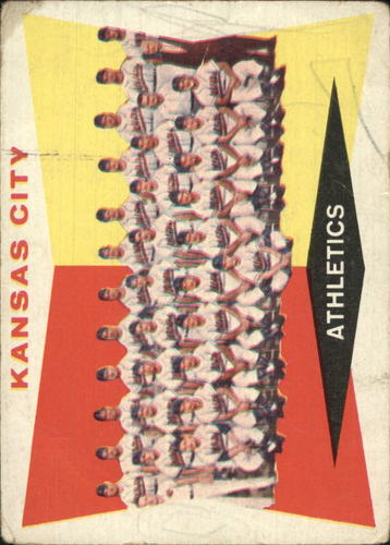 Photo of 1960 Topps #413 Kansas City Athletics CL