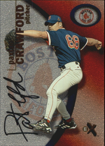 Photo of 2001 E-X Prospect Autographs #120 Paxton Crawford/250