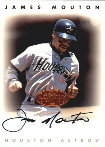 Photo of 1996 Leaf Signature Autographs #163 James Mouton