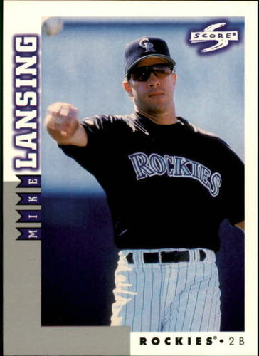 Photo of 1998 Score Rookie Traded #187 Mike Lansing