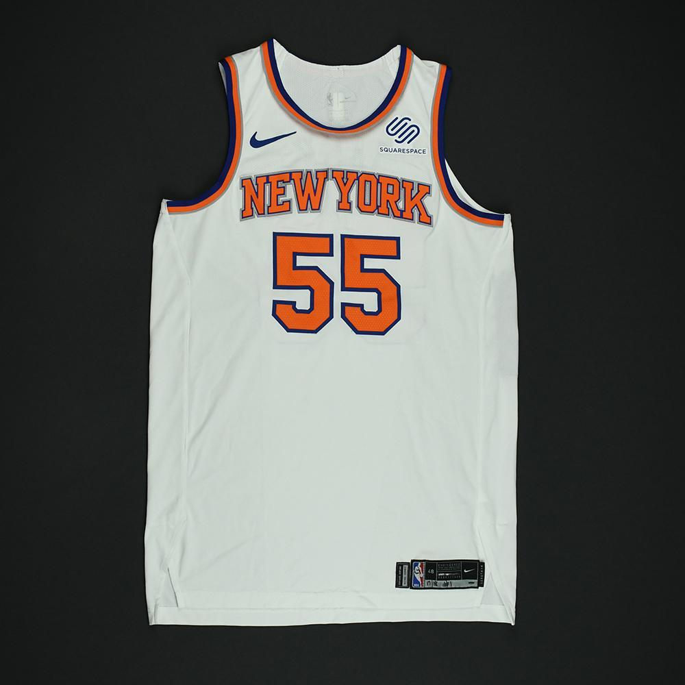 Jarrett Jack - New York Knicks - NBA Christmas Day '17 Game-Worn Jersey