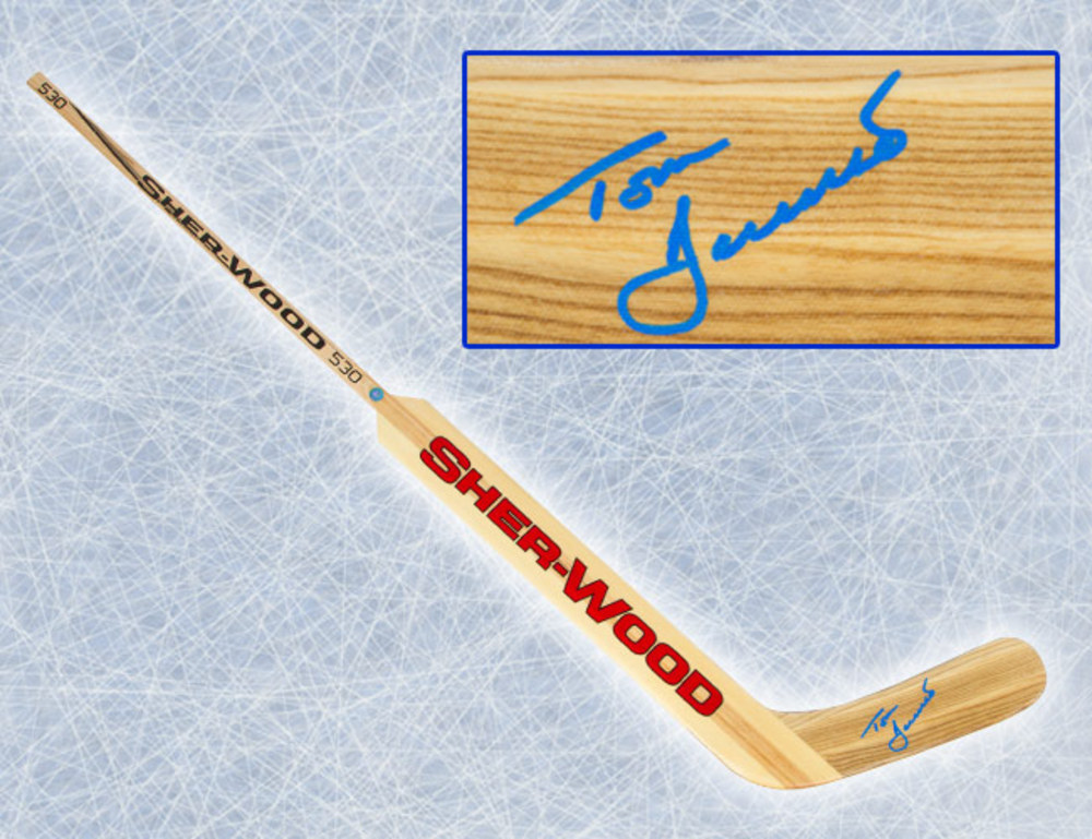 Tom Barrasso Autographed Sher-Wood Goalie Stick