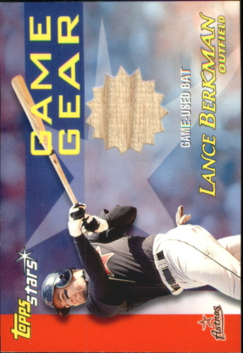Photo of 2000 Topps Stars Game Gear Bats #GGB10 Lance Berkman C