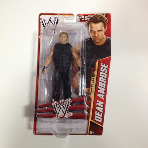 SIGNED Dean Ambrose Mattel Basic Series 33 Figure