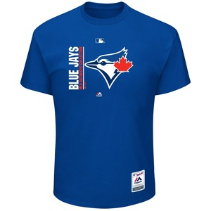 Toronto Blue Jays Authentic Collection Icon Royal T-Shirt by Majestic