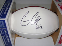 NFL - RAIDERS CONNOR COOK SIGNED PANEL BALL